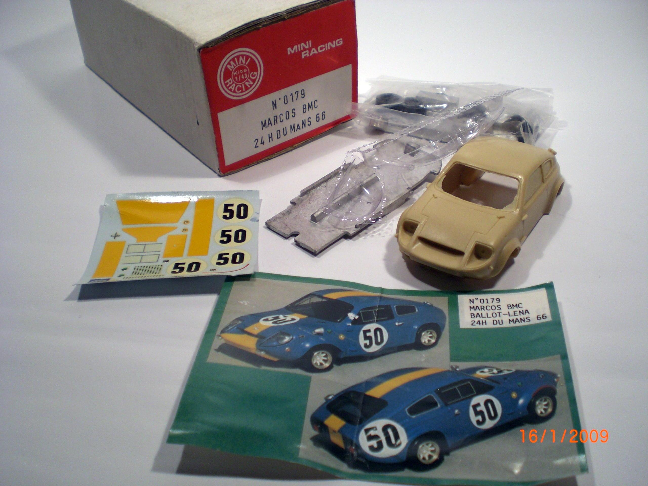 Mini Marcos Resin Kit